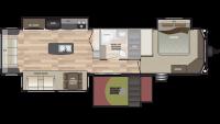 2019 Residence 40FLFT Floor Plan