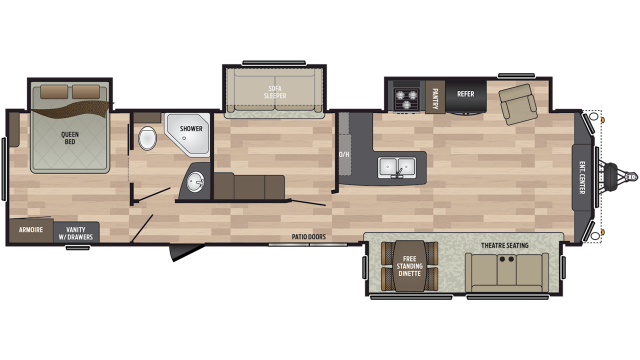 2019 Residence 40MBNK