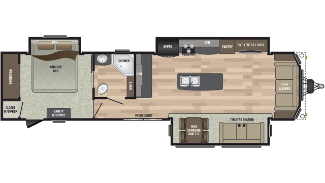 2019 Residence 401MKTS
