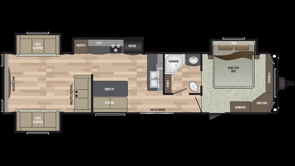 2019 Residence 40RDEN Floor Plan Img
