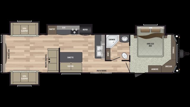 2019 Residence 401RDEN