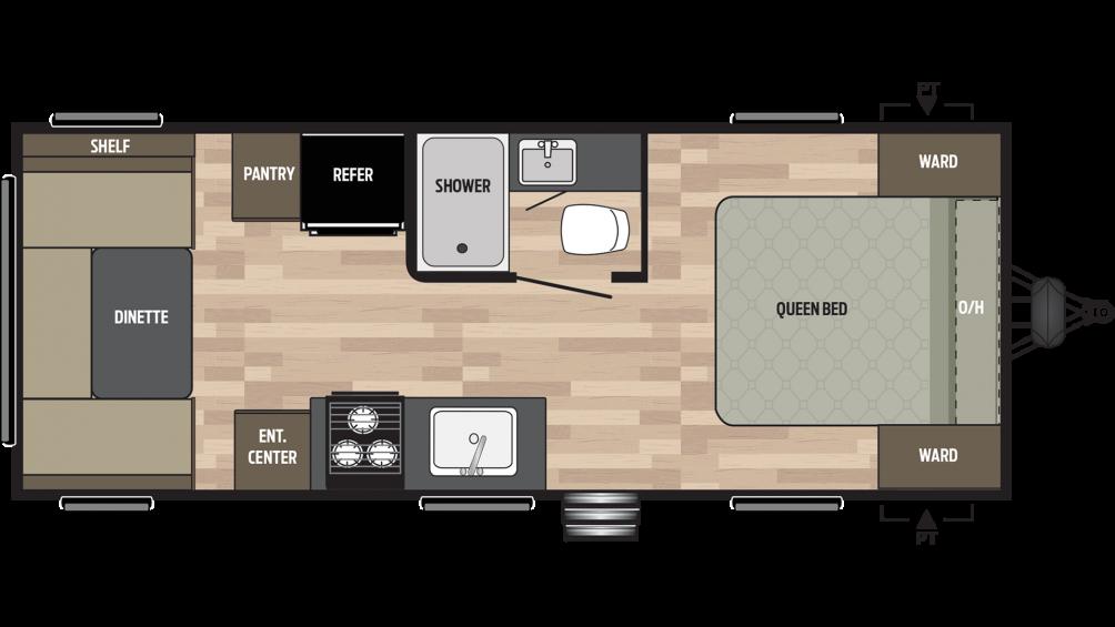 2019 Springdale 202RD Floor Plan Img