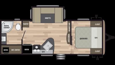 2019 Springdale 235RB Floor Plan Img