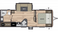 2019 Springdale 235RB Floor Plan
