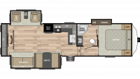 2019 Springdale 253RE Floor Plan