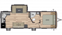 2019 Springdale 262RK Floor Plan