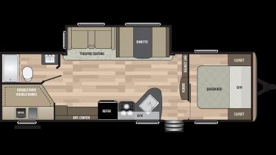 2019 Springdale 270BH Floor Plan Img