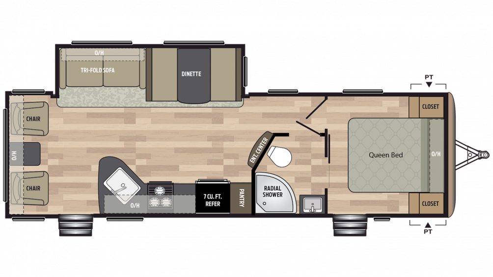 2019 Springdale 271RL Floor Plan Img