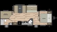 2019 Springdale 282BH Floor Plan