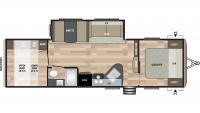 2019 Springdale 296BH Floor Plan
