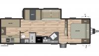 2019 Springdale 298BH Floor Plan