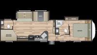 2019 Springdale 300BH Floor Plan