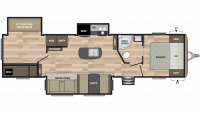 2019 Springdale 332RB Floor Plan