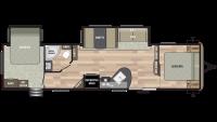 2019 Springdale 38FQ Floor Plan