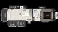 2019 Sprinter Campfire Edition 29FWRL Floor Plan