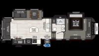 2019 Sprinter Limited 3150FWRLS Floor Plan