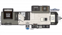 2019 Sprinter Limited 333FKS Floor Plan