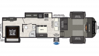 2019 Sprinter Limited 3340FWFLS Floor Plan