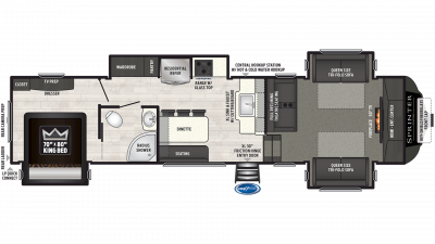 2019 Sprinter Limited 3341FWFLS Floor Plan Img