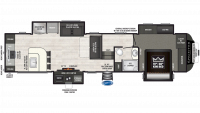 2019 Sprinter Limited 3551FWMLS Floor Plan