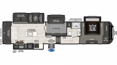 2019 Sprinter Limited 3570FWLFT Floor Plan Img