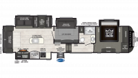 2019 Sprinter Limited 3571FWLFT Floor Plan