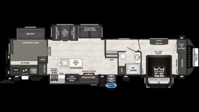 2020 Sprinter Limited 3620FWLBH - SP8958
