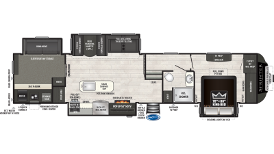 2020 Sprinter Limited 3621FWLBH - SP0114