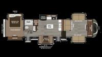 2019 Montana 3730FL Floor Plan