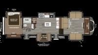 2019 Montana 3731FL Floor Plan