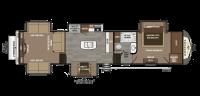 2019 Montana 3791RD Floor Plan