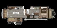 2019 Montana 3811MS Floor Plan