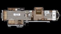 2019 Montana 3920FB Floor Plan
