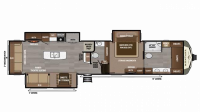 2019 Montana 3930FB Floor Plan