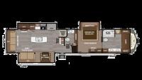 2019 Montana 3930FB Floor Plan