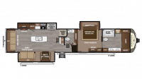 2018 Montana 3931FB Floor Plan