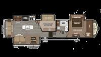 2019 Montana 3950BR Floor Plan