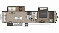 2019 Montana High Country 305RL Floor Plan