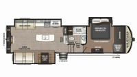 2019 Montana High Country 310RE Floor Plan