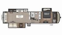 2019 Montana High Country 330RL Floor Plan