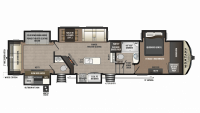 2019 Montana High Country 362RD Floor Plan