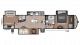 2018 Montana High Country 365BH Floor Plan