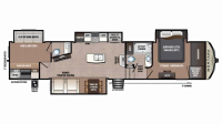 2019 Montana High Country 365BH Floor Plan