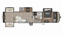 2019 Montana High Country 379RD Floor Plan