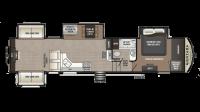 2019 Montana High Country 379RD Floor Plan