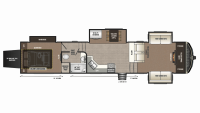 2019 Montana High Country 380TH Floor Plan