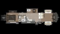 2019 Montana High Country 380TH Floor Plan