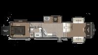 2019 Montana High Country 381TH Floor Plan