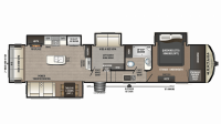 2019 Montana High Country 384BR Floor Plan