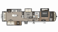 2019 Montana High Country 385BR Floor Plan
